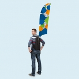 Promotional Backpack Bowflag® from Vispronet