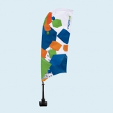 Custom Car Window Flags - Car Bowflag®
