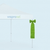 Pop Up Tent Bows from Vispronet®