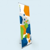 L Banner Stands for Advertising & Promotional Marketing Purposes