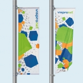 Street Pole Banners Available in 7 Options