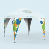 Pop Up Tent Leg Banners from Vispronet®