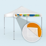 Removable Tent Banners