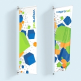 Wall Mounted Pole Banners
