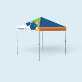 Pop Up Tent Compact 10 x 10 with Full Print