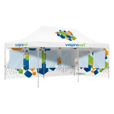 10x20 Pop Up Canopy Tent With Full Print