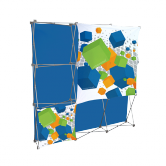 Stretch Panel Pop Up Booth 7.4ft x 7.4ft - 3308