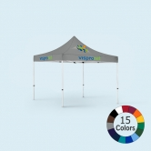 10x10 Colored Logo Tent