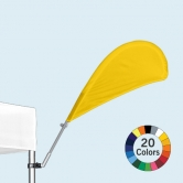 30° Pop Up Tent Stock Color Bowflag®
