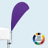 90° Pop Up Tent Stock Color Bowflag®