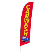 Car Wash Stock Design Bowflag® Kit
