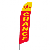Oil Change Stock Design Bowflag® Kit