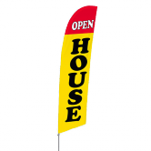Open House Stock Design Bowflag® Kit