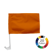 Small Stock Color Car Flag