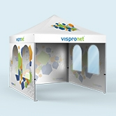 Pop Up Tents & Walls with Full Print