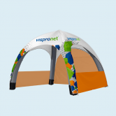 Inflatable Tent 13' x 13' & Optional Walls
