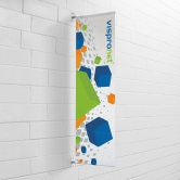 Wall Mounted Pole Banner Opt 5