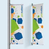 Pole Banners - Street Pole Banners & Wall Mounted Pole Banners