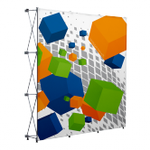 Pop Up Portable Booth SEG 7.4ft x 7.4ft
