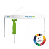 Stock Color Pop Up Tent Bows