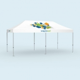 Pop Up Tent Deluxe 10 x 20 with Logo Print