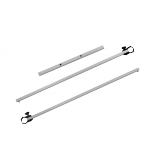 10.0ft Basic/Deluxe Half Wall Hardware Kit