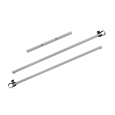 15.0ft Basic/Deluxe Half Wall Hardware Kit