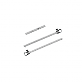 6.5ft Pavilion Half Wall Hardware Kit