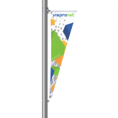 Street Pole Banner Opt 3 - Triangular