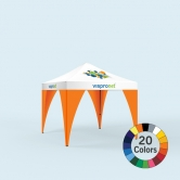 Stock Color Pop Up Tent Leg Banner