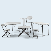 Foldable Tables & Chairs