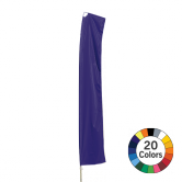Solid Color Rectangular Bowflag® with Arm Kit