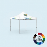 10x10 Logo Tent (Optional Walls)