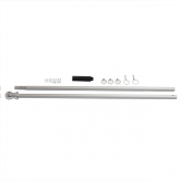 6ft Aluminum Flagpole