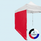 Stock Color Tent Wall