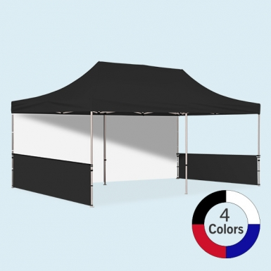 Stock Color Pop Up Tent Basic 10 x 20 & Walls