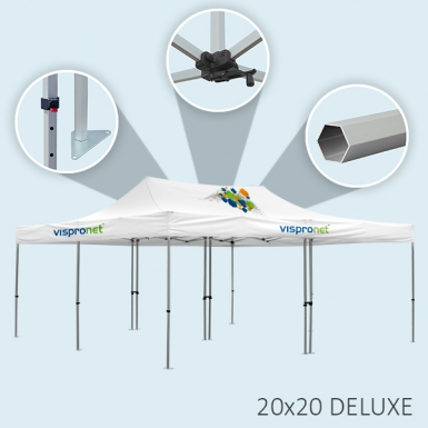 Features of Deluxe Tent Frame