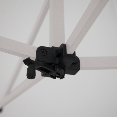 Rooftop crank extends to provide you with a taut canopy
