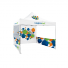 Pop Up Tent Premium 13x13 with a full wall and two panoramic window walls