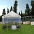 A tent with your custom design gives your event the special look while being useful as a display area or shelter