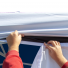 Tent walls install effortlessly between the tent liner and the tent canopy