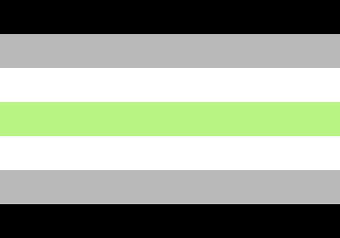 Agender Flag