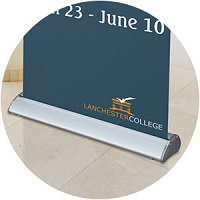 Deluxe Retractable Banner Base