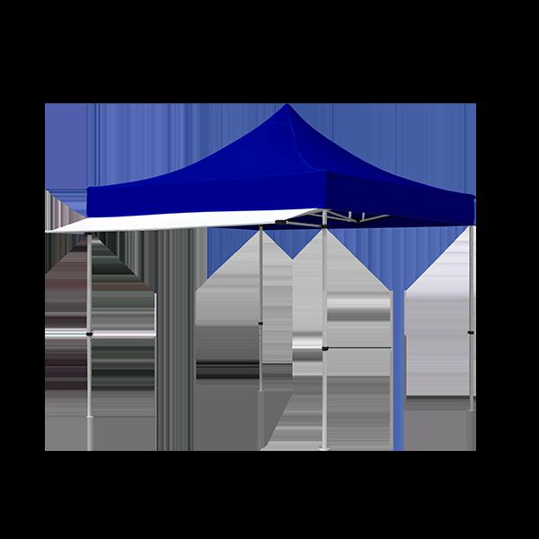 White Tent Awning Vispronet