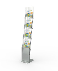 Treadeshow Magazine Display Rack