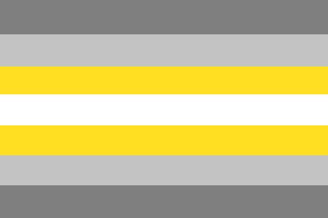 Demigender Flag