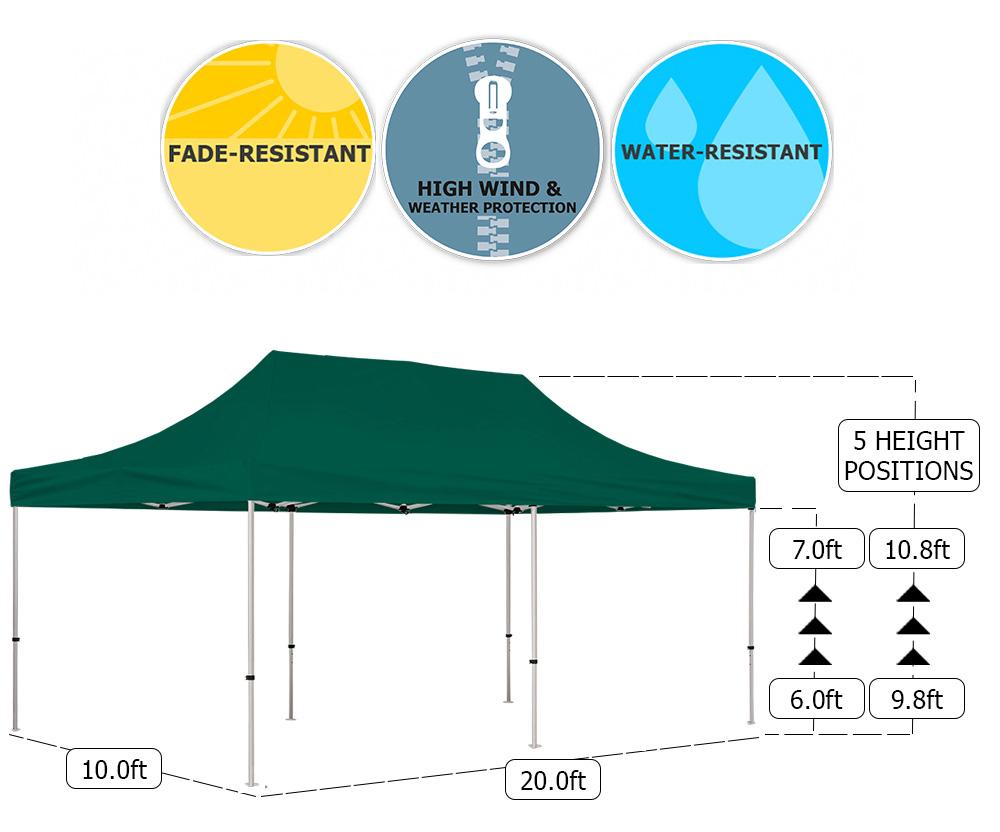 Deluxe 10x20 Tent