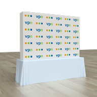 Pop Up Portable Booth 7.4ft x 5.0ft